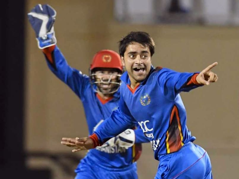 Afghanistan Sensation Rashid Khan Becomes Fastest To 100 ODI Wickets