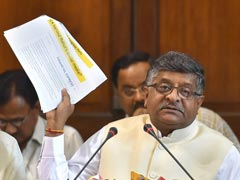 """""""Your Legacy"""": Law Minister's Stinging Comeback To Rahul Gandhi's Jab"""