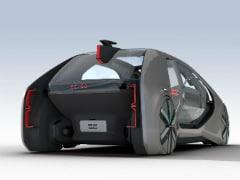 जेनेवा मोटर शो: रेनॉ ने हटाया इलैक्ट्रिक रोबोट कार से पर्दा, बिना ड्राइवर के चलती है EZ-GO