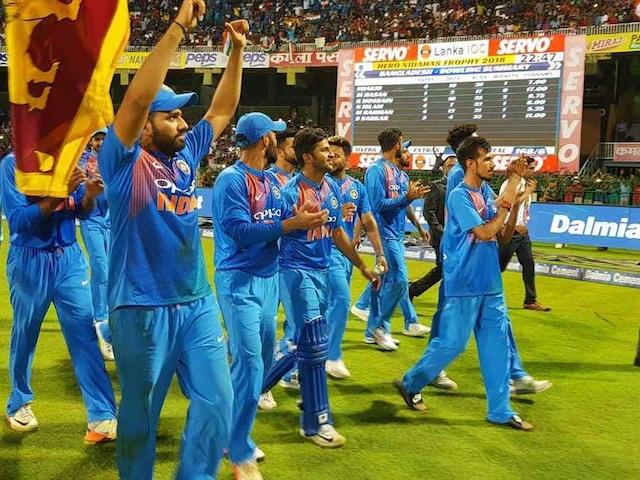 Nidahas Trophy Final, India Vs Bangladesh: Rohit Sharma Waves Sri Lankan Flag During Victory Lap In Colombo