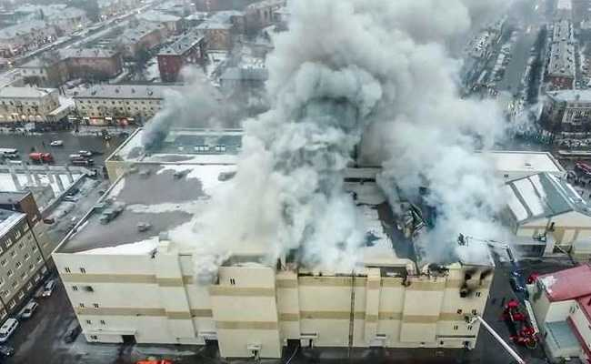 Exits Illegally Blocked, Finds Police Probe Into Russia Mall Fire