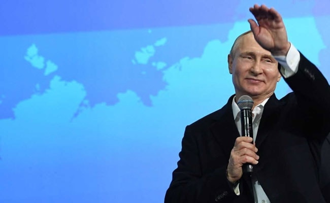 Vladimir Putin Wins Russian Polls With 76 Per Cent Of The Votes