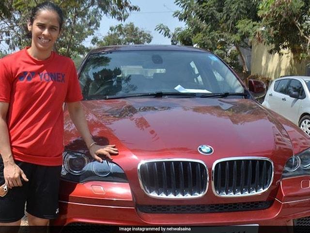 Saina Nehwal Adds A Brand New Car To Her Garage