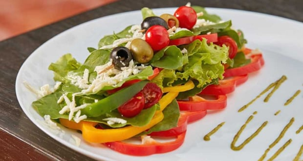 Olive and Peppers Salad
