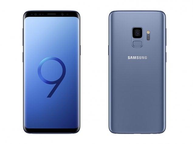 samsung galaxy s9 blue