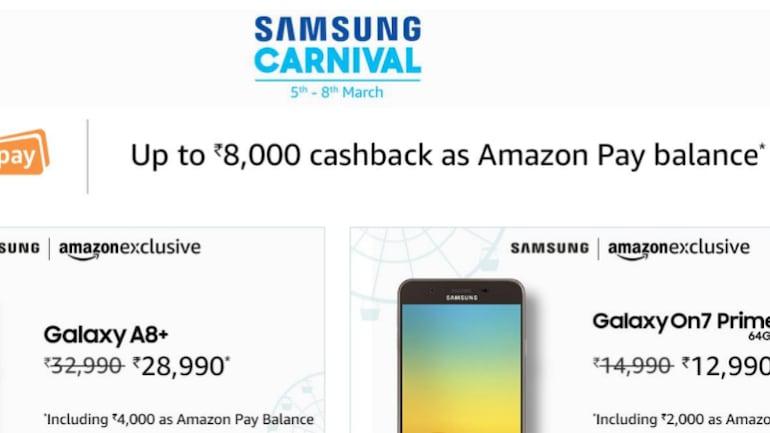 सैमसंग कार्निवल सेलः कई गैलेक्सी स्मार्टफोन पर मिल रहा है कैशबैक