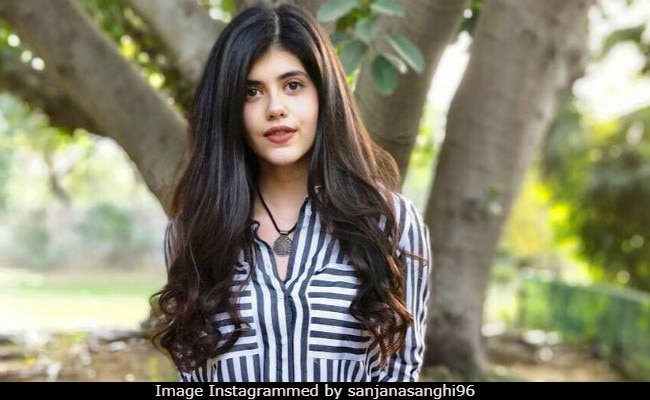 The Fault In Our Stars Ropes In Sanjana Sanghi As Sushant Singh Rajput's Heroine