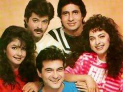 Amitabh Bachchan, Anil Kapoor, Juhi Chawla, Pooja Bhatt, Sanjay Kapoor In An Epic Throwback Pic
