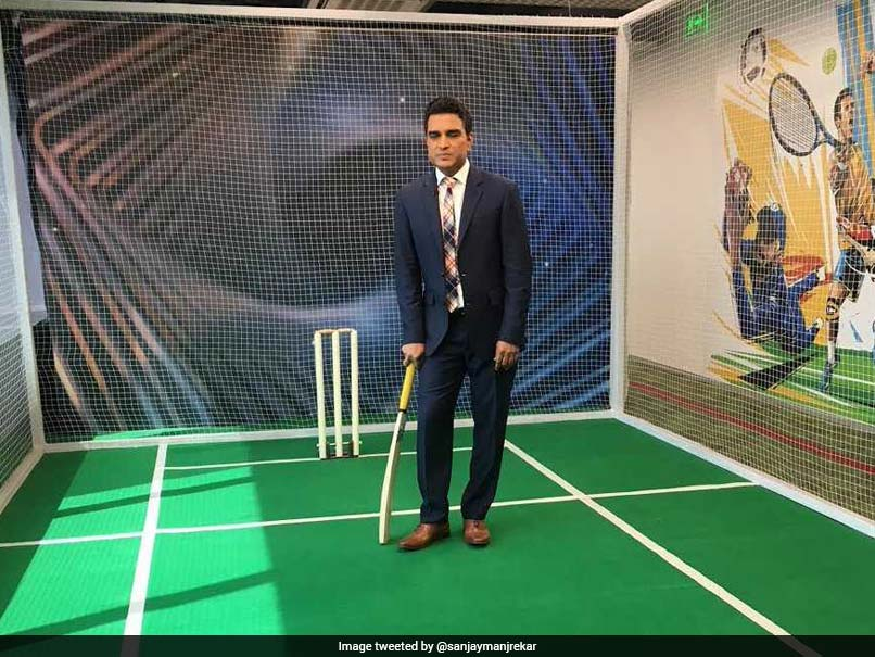 "West Indies vs England: Sanjay Manjrekar Savagely Trolled For ""Bizarre"" Tweet Questioning Use Of Stump Mics"