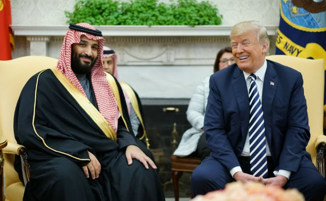 Saudi Crown Prince arrives in U.S. on state visit