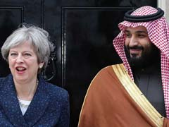 UK Rolls Out Red Carpet For Saudi Crown Prince Amid Protests