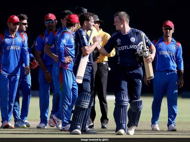 2019 World Cup Qualifier: Rashid Khan Blames Conditions For Afghanistans Shock Loss To Scotland