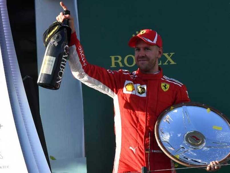 F1: Sebastian Vettel Holds Off Lewis Hamilton To Win Australian Grand Prix Thriller