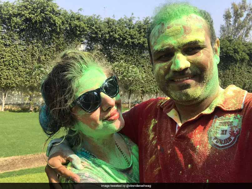 Virender Sehwag, VVS Laxman And Others Wish Their Fans On Holi