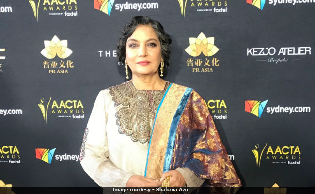 Shabana Azmi Feels That India Is 'Simultaneously Living In Many Centuries'