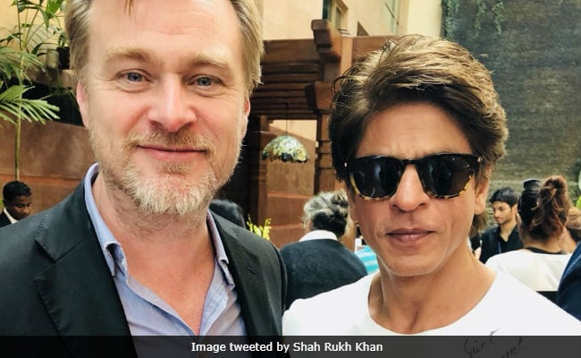 Shah Rukh Khan Meets Christopher Nolan, Tweets His 'Fanboy Moment'