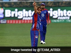 Watch: Shahid Afridi Gives Batsman Rude Send-Off, Later Apologises On Twitter