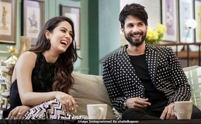 Shahid Kapoor Was Asked If He Had Been Cheated On. Wife Mira Added A Zinger