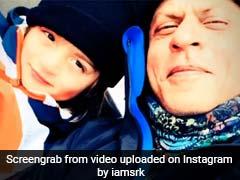 शाहरुख संग कभी बिस्तर पर दिखे तो कभी बर्फ पर स्की करते नजर आए अबराम, यूं मना रहे हैं छुट्टियां- Video हुआ वायरल
