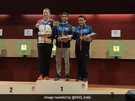 ISSF Shooting World Cup: Shahzar Rizvi Wins Gold; Bronze For Mehuli Ghosh, Jitu Rai