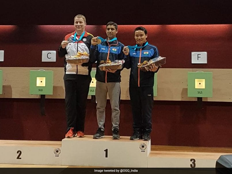 ISSF Shooting World Cup: Shahzar Rizvi Wins Gold; Bronze For Mehuli Ghosh, Jitu Rai