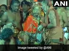 Devotees Allegedly Pushed Away During Kanchi Shankaracharya's Burial