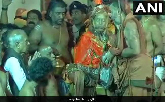 Devotees Allegedly Pushed Away During Kanchi Shankaracharya's Burial