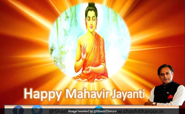 Shashi Tharoor Tweets Mahavir Jayanti Wishes With Buddha Pic, Trolled