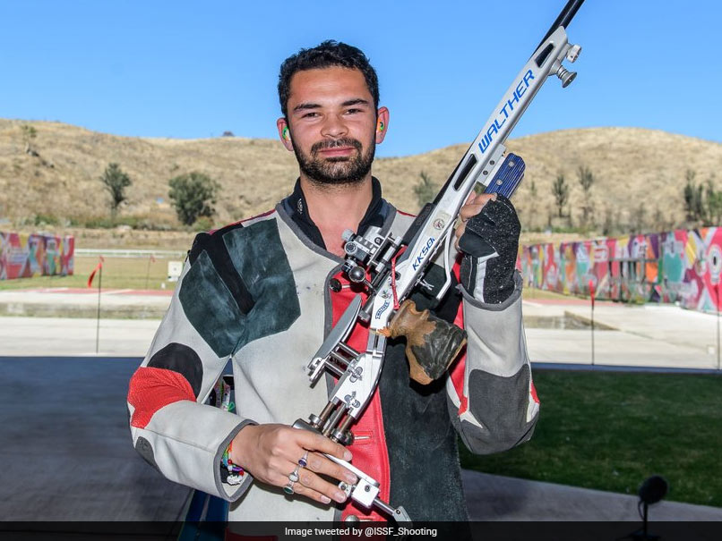 Akhil Sheoran scores gold in shooting debut