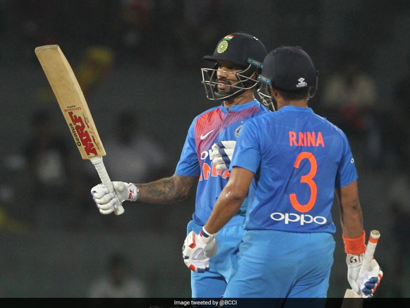Nidahas Trophy 2018: Shikhar Dhawan Shines As India Stroll Past Bangladesh In 2nd T20I