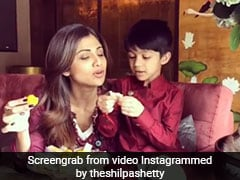 Shilpa Shetty's 'No Refined Sugar Birthday Cake' For Son Viaan Is Winning The Internet (See pics)