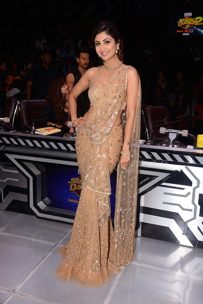Shilpa Shetty\'s Saree Experiments Just Keep Getting Better. See Pics