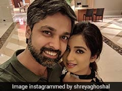 Singer Shreya Ghoshal Celebrated Birthday With Two Scrummy Cakes (See Pic Inside)