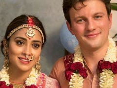 Pics From Shriya Saran And Andrei Koscheev's Wedding Album