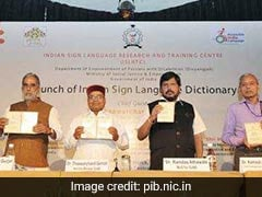 First 'Indian Sign Language' Dictionary Of 3000 Words Launched In Delhi