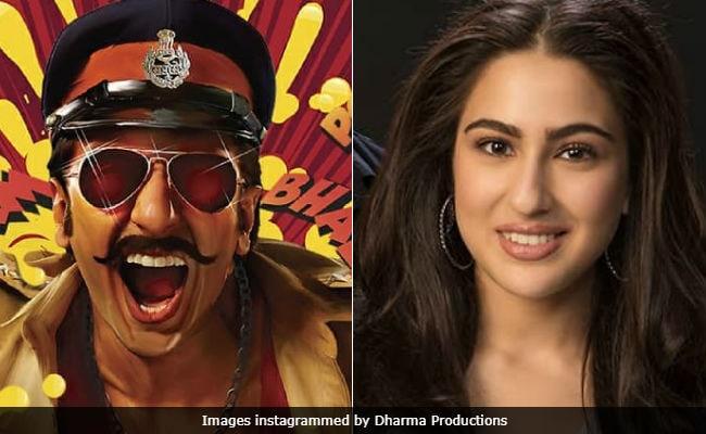 Ranveer Singh's Simmba Heroine Is... Drum Roll... Sara Ali Khan