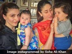 'Worried' Soha Ali Khan Put Kohl On Daughter Inaaya When Her Pic Was Praised