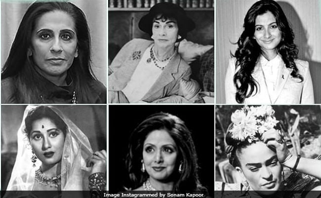 Women's Day 2018: Sonam Paid Homage To Mom Sunita, Sridevi, Rhea and Others