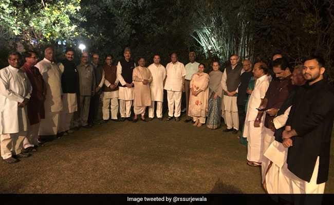 At Sonia Gandhi's Dinner For Friends From 19 Parties, A Swipe At BJP