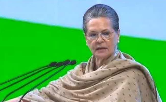 Congress Plenary Session Updates: Sonia Gandhi Says Modi Government Drunk On Power, Promises Were All Drama