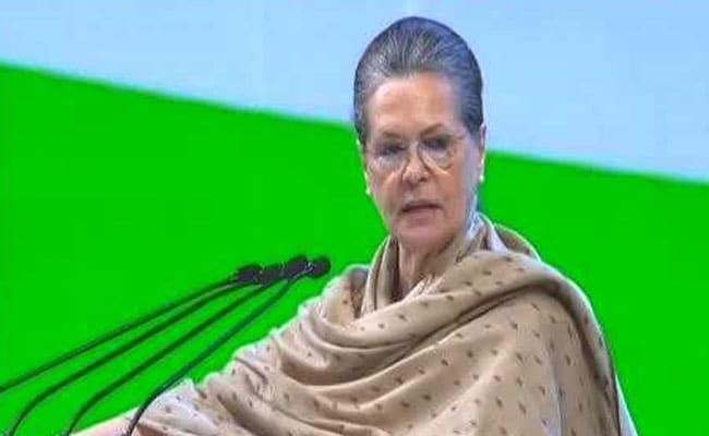 यूपीए अध्यक्ष सोनिया गांधी शिमला में हुईं अस्वस्थ, दिल्ली ले जाया गया