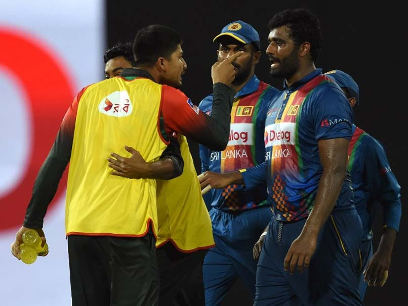 After angry outburst, Bangladesh beat Sri Lanka to play India in final