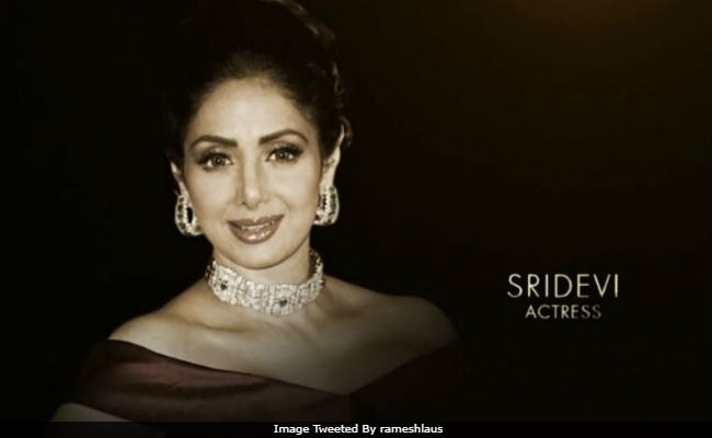 Oscars 2018: A Tribute To Sridevi And Shashi Kapoor From Hollywood