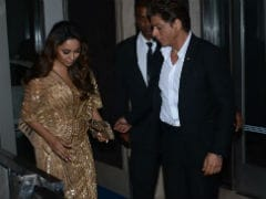 Shah Rukh Khan Helping Gauri Walk In Her Gown Is The Gold Standard Of Couple Goals