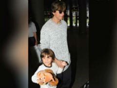 Shah Rukh Khan And AbRam Are Back From Vacation. See Pics At Airport