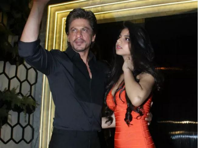 Shah Rukh Khan's daughter ready to enter showbiz