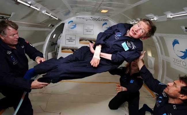 stephen hawking zero gravity afp