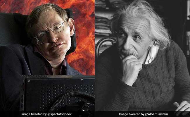 स्टीफन हॉकिंग और एल्बर्ट आइंस्टिन का ये खास कनेक्शन जानकर, आपको भी नहीं होगा यकीन