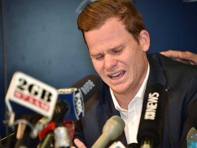 "Ball-Tampering Scandal: ""Will Regret This All My Life,"" Says Steve Smith"