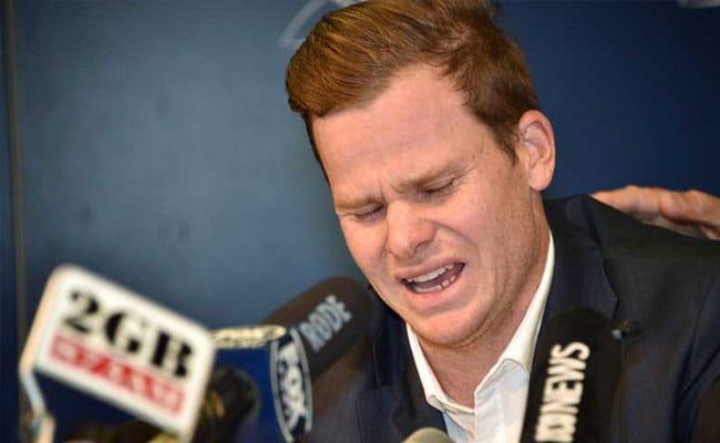 बॉल टैम्परिंग विवाद: प्रेस कॉन्फ्रेंस के दौरान रो पड़े स्टीव स्मिथ, कहा- कप्तान के रूप में पूरी जिम्मेदारी मेरी